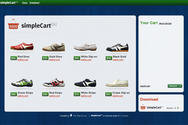 SimpleCart-Best Free WordPress eCommerce Themes