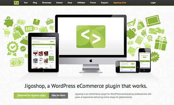 jigoshop-Best Free WordPress eCommerce Themes