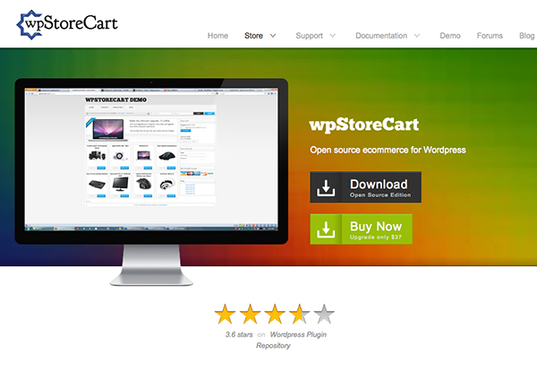 wpstorecart-Best Free WordPress eCommerce Themes
