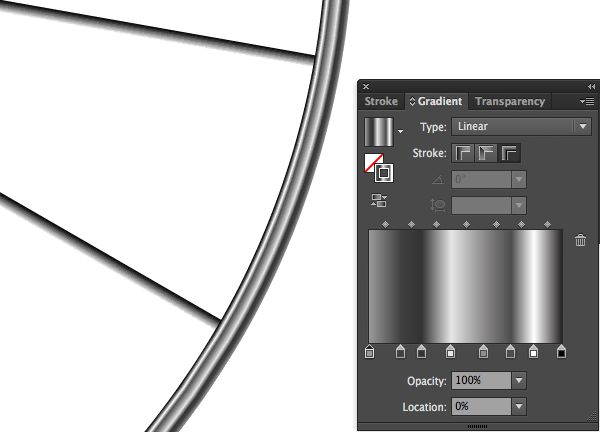 Create Awesome Artwork Using Gradient Strokes in Illustrator