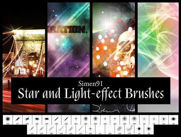 star_and_light_free_Photoshop_brushes