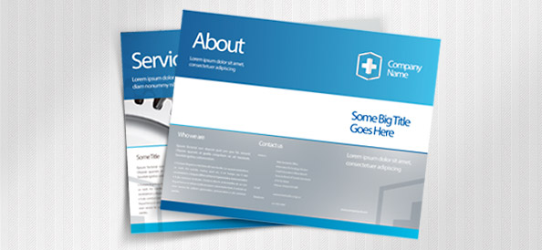 Leaflet_PSD_Template_small - Free Photoshop Templates