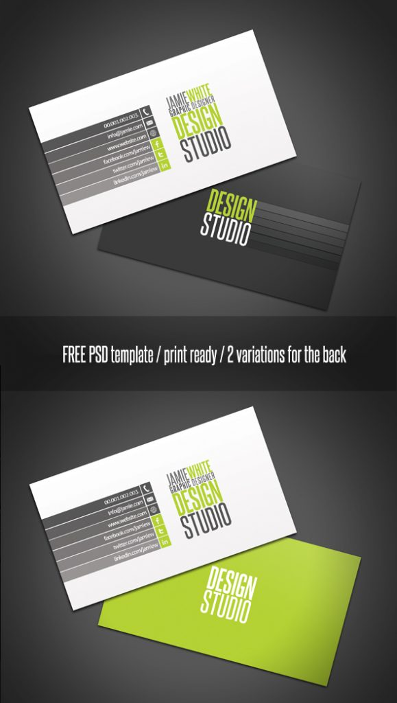 professional_business_card_by_24 - best Free Photoshop Templates