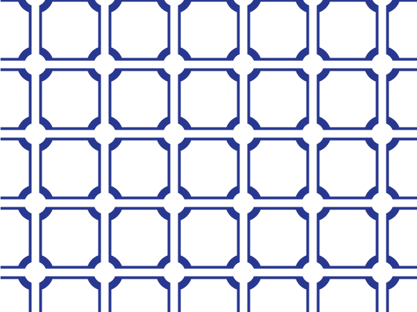 Tile Blue vector pattern swatches