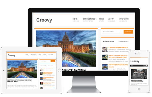 Groovy Free WordPress Themes