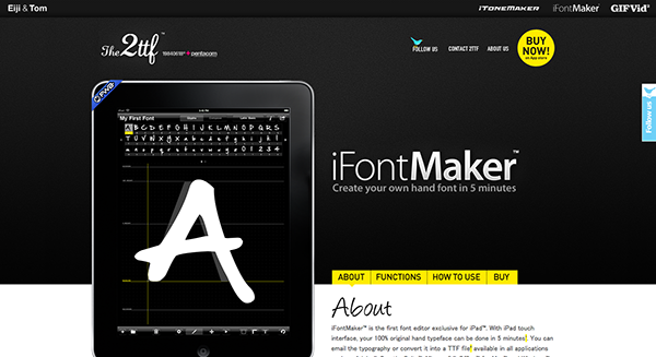 iFontMaker: Apps For Designers