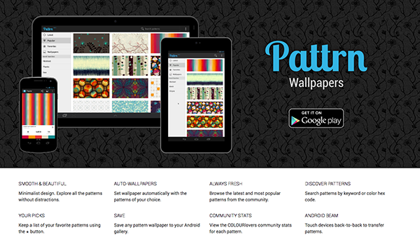 Pattrn: Apps for designers