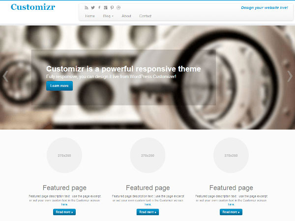 customizr Free WordPress Themes