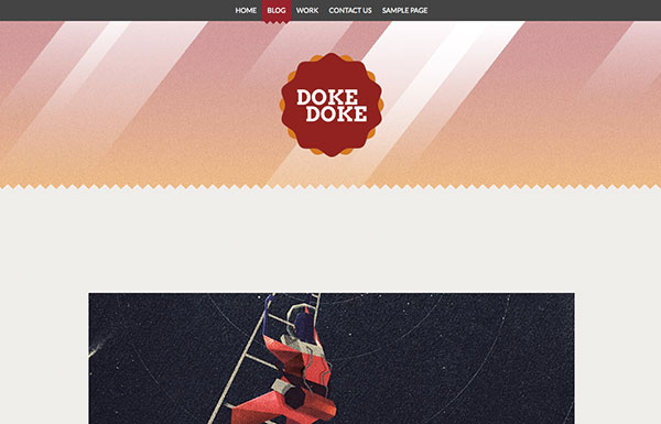 doke-doke Free WordPress Theme