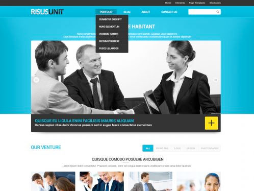 risusunit Free WordPress Theme
