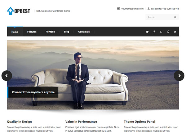 topbest Free WordPress Theme