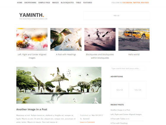 yaminth Free WordPress Themes