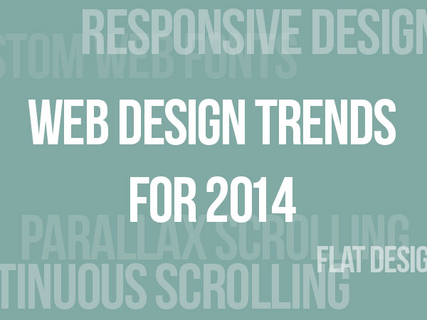 web design trends 2014