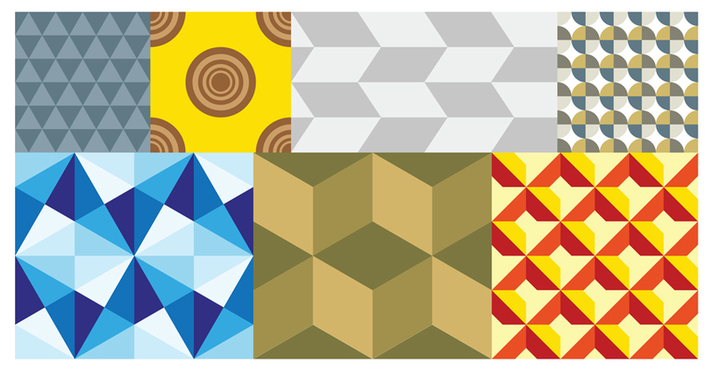 Free vector geometric patterns creative beacon Geometric patterns