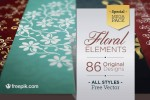 floral elements mega pack free