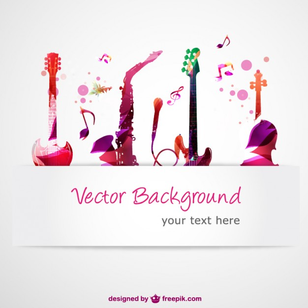 Music Vectors: Instruments
