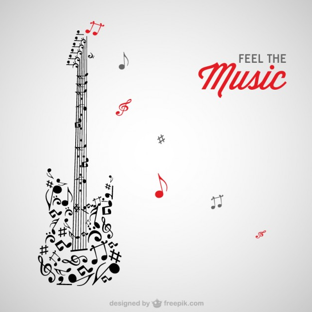 Music Vectors: Guitars