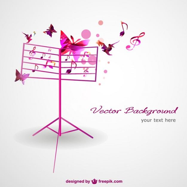 Music Vectors: Conductor Stand
