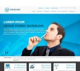 Free Bootstrap Corporate Theme: feat