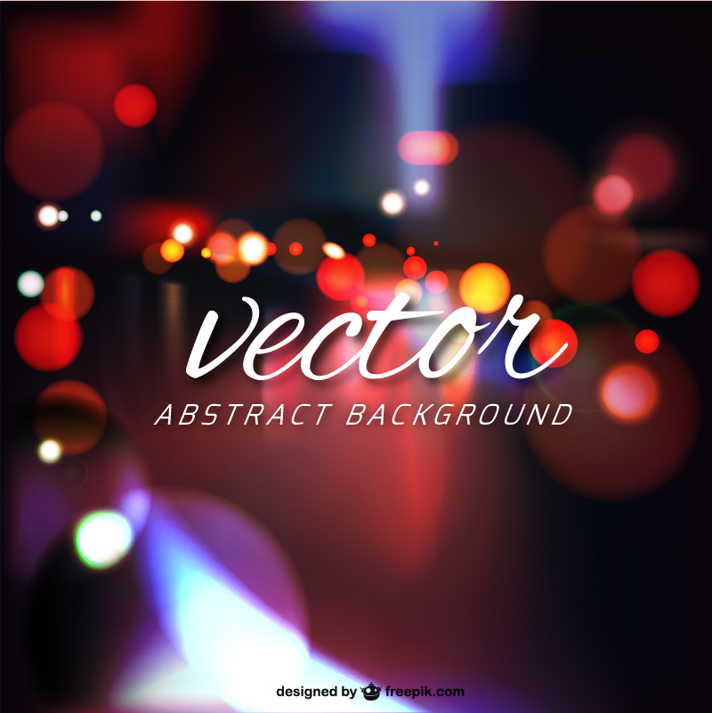 vector blurred backgrounds night bokeh