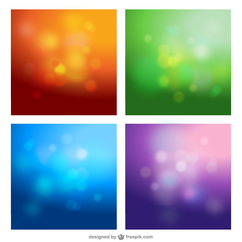 vector blurred backgrounds 09