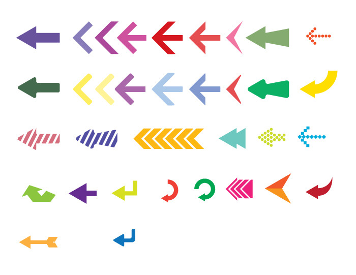 Free vector arrows pack