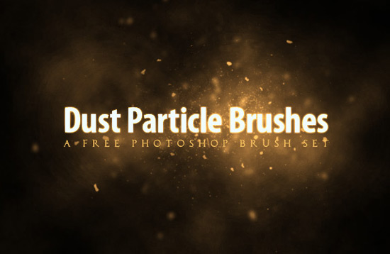 dust particles - useful Photoshop brushes