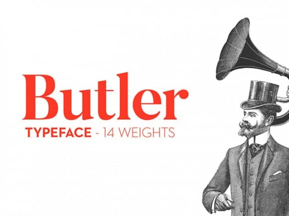 Butler Sweet Free Fonts